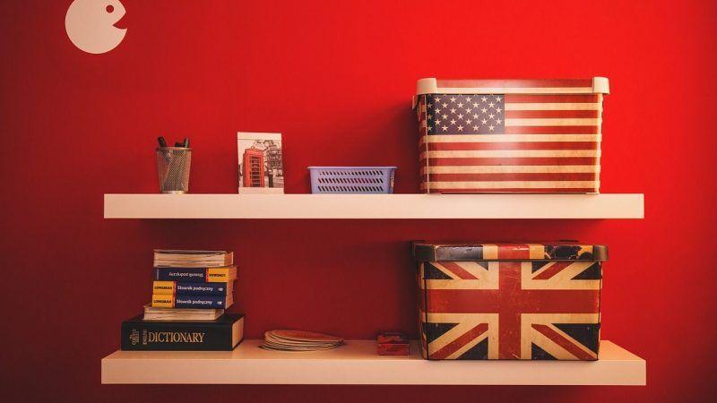 Inglés británico y americano, principales diferencias