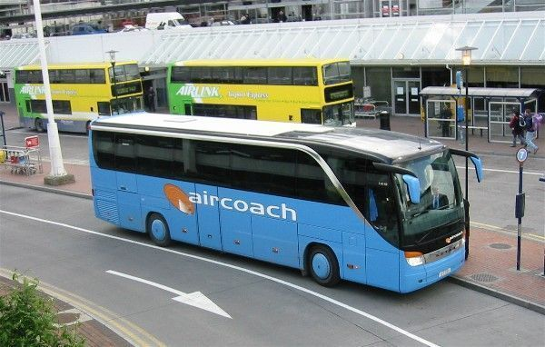 Autobuses privados Aircoach en Irlanda