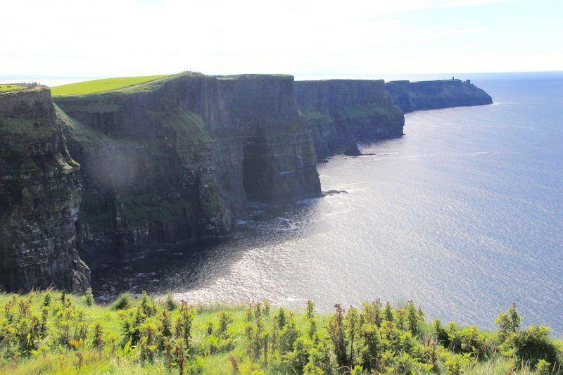 Los acantilados de Moher cerca de la ciudad de Galway