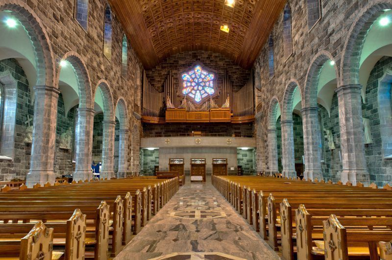 La catedral de Galway city