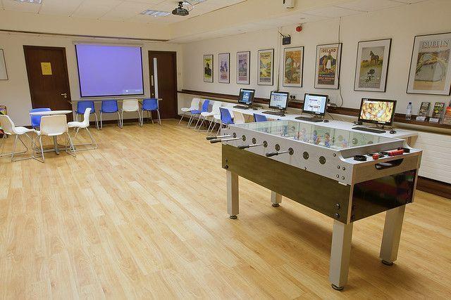 Instalaciones de una escuela de inglés de Irlanda